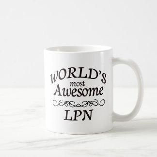 World's Most Awesome LPN Coffee Mug