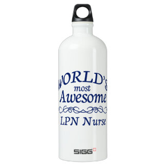 World's Most Awesome LVN SIGG Traveler 1.0L Water Bottle
