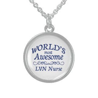 World's Most Awesome LVN Sterling Silver Necklace