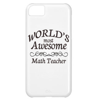 World's Most Awesome Math Teacher iPhone 5C Cover