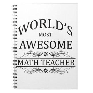 World's Most Awesome Math Teacher Notebook
