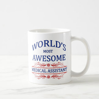 World's Most Awesome Medical Assistant Classic White Coffee Mug