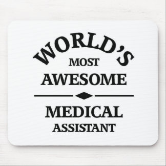 World's most awesome medical assistant mouse pad