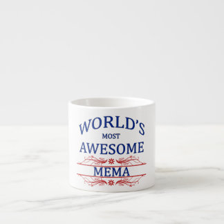 World's Most Awesome Mema Espresso Cup
