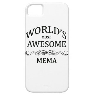 World's Most Awesome Mema iPhone SE/5/5s Case