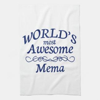 World's Most Awesome Mema Towel