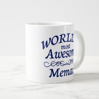 World's Most Awesome Memaw Large Coffee Mug
