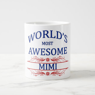 World's Most Awesome Mimi Large Coffee Mug
