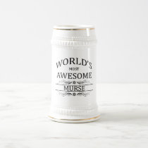 World's Most Awesome Murse Beer Stein
