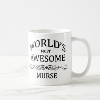 World's Most Awesome Murse Coffee Mug