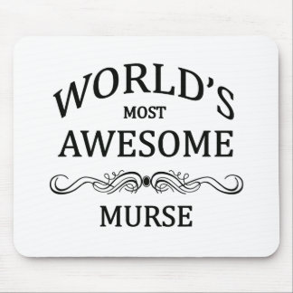World's Most Awesome Murse Mouse Pad
