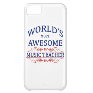 World's Most Awesome Music Teacher Case For iPhone 5C