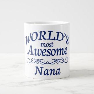 World's Most Awesome Nana Giant Coffee Mug