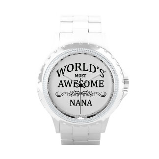 World's Most Awesome Nana Wristwatches