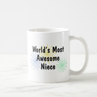 World's Most Awesome Niece Mug