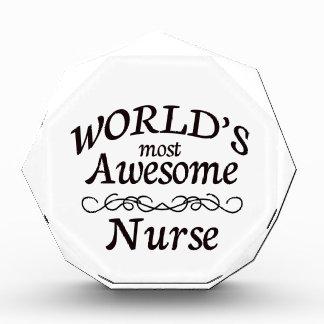 World's Most Awesome Nurse Award