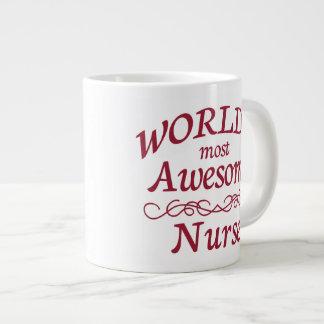 World's Most Awesome Nurse Giant Coffee Mug