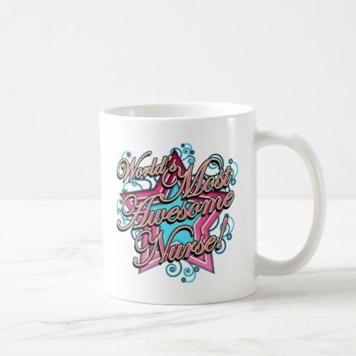 Worlds Most Awesome Nurse Mugs
