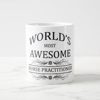 World's Most Awesome Nurse Practitioner 20 Oz Large Ceramic Coffee Mug