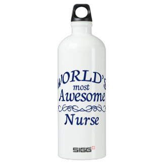 World's Most Awesome Nurse SIGG Traveler 1.0L Water Bottle