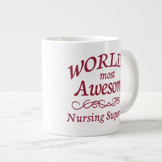 World's Most Awesome Nursing Supervisor Giant Coffee Mug