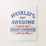 World's Most Awesome Nursing Supervisor Puzzles