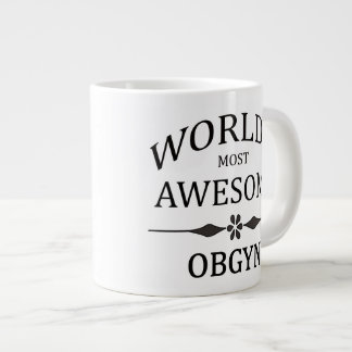 World's Most Awesome OBGYN Large Coffee Mug
