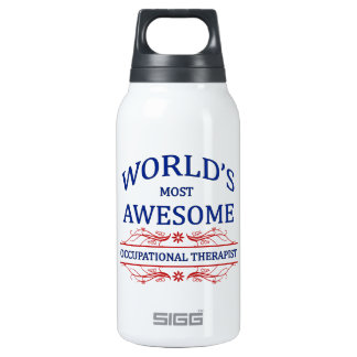 World's Most Awesome Occupational Therapist Insulated Water Bottle