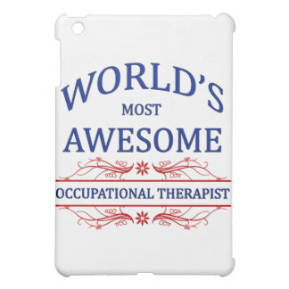 World's Most Awesome Occupational Therapist iPad Mini Covers