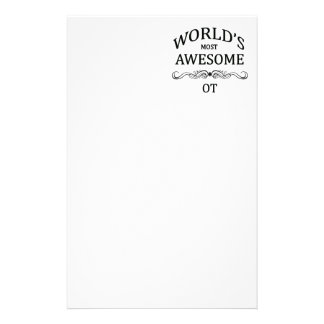 World's Most Awesome OT Stationery
