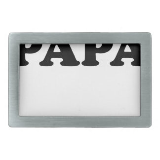 World's Most Awesome Papa T Shirts.png Belt Buckle