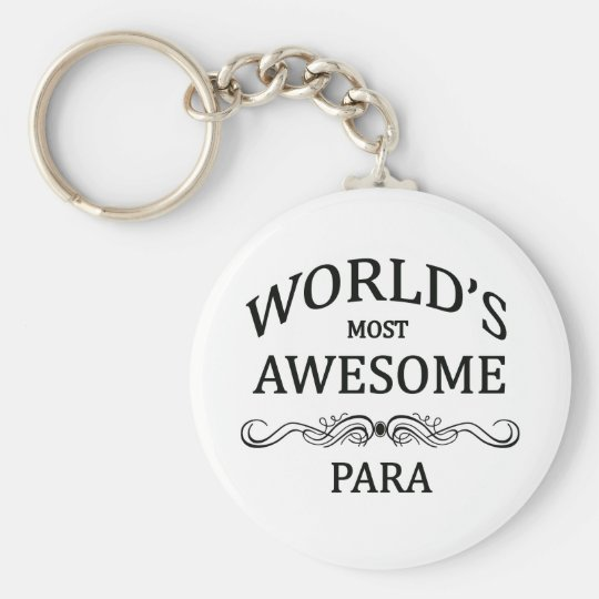 World's Most Awesome Para Keychain