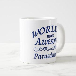 World's Most Awesome Paraeducator Giant Coffee Mug