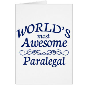 World's Most Awesome Paralegal