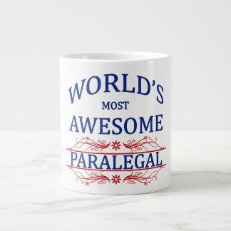 World's Most Awesome Paralegal Jumbo Mug