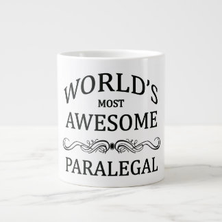 World's Most Awesome Paralegal Jumbo Mugs