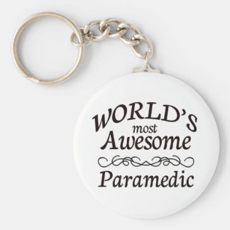 World's Most Awesome Paramedic Keychain
