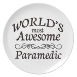 World's Most Awesome Paramedic Plate