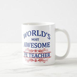 World's Most Awesome PE Teacher Coffee Mug