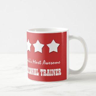 World's Most Awesome PERSONAL TRAINER B075B Classic White Coffee Mug