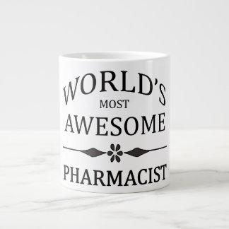 World's Most Awesome Pharmacist Large Coffee Mug
