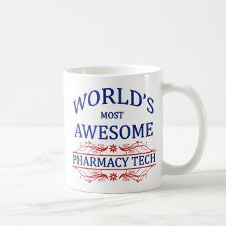World's Most Awesome Pharmacy Tech Coffee Mug