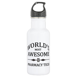 World's Most Awesome Pharmacy Tech Water Bottle