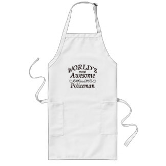 World's Most Awesome Policeman Aprons