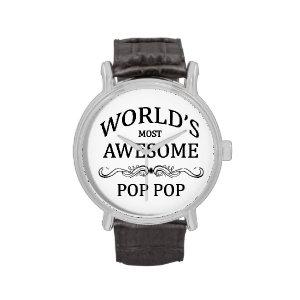 World's Most Awesome Pop Pop Wristwatch