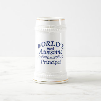 World's Most Awesome Principal Beer Stein