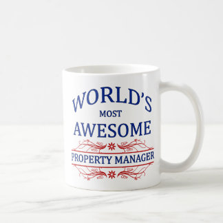 World's Most Awesome Property Manager Coffee Mug