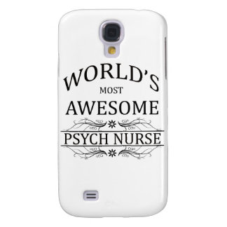 World's Most Awesome Psych Nurse Galaxy S4 Cases