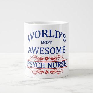 World's Most Awesome Psych Nurse Jumbo Mugs