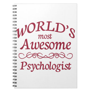 World's Most Awesome Psychologist Notebook